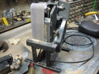 Belt Sander Vertical Mount