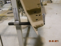Homemade Angle Grinder Cutoff Wheel Arbor