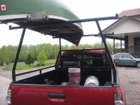 Pickup Canoe Rack