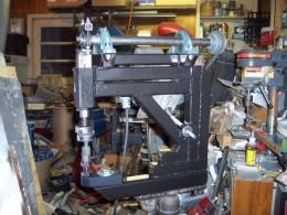 Homemade Reciprocating Hammer Machine