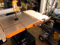 Bandsaw Folding Table Extension