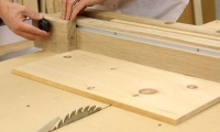 Crosscut Sled Fence