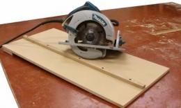 Homemade Circular Saw Cutting Guide