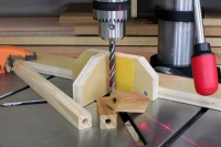 Drill Press Alignment Jig