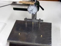 Thickness Measuring Fixture