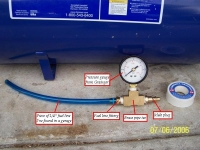Pop Off Pressure Gauge
