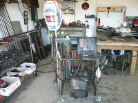 Multi Level Welding Cart