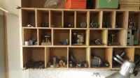 Lathe Accessories Storage