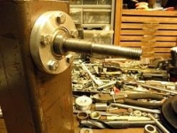Wood Lathe Bearing Shaft