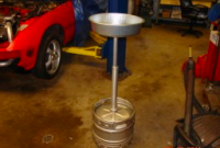 Overhead Hoist Oil Catch Can