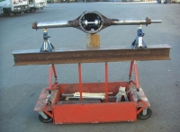 Axle Straightening Table