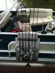Boat Railing Rod Holder