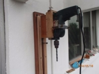 Wall Mounted Drill Press