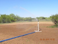 Farm Plot Sprinkler System