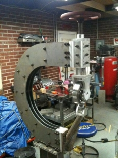 Homemade English Wheel Homemadetools Net