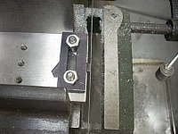 Bandsaw Clamping Plate