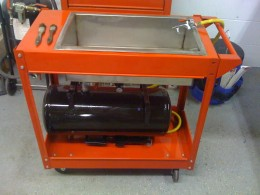 Homemade Parts Washer From Air Compressor Homemadetools Net
