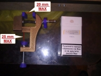 Homemade Wooden Drill Press Vise