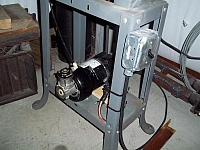 Bandsaw Blower Modification