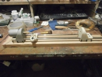 Pocket Wood Lathe