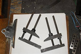 Parallel Clamps for Hole Transfer