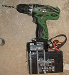 Modified Battery for Cordless Drill