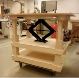Homemade Adjustable Height Table Homemadetools Net