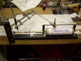 how to make a pantograph for a router