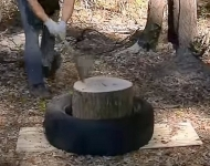 Log Splitting Method