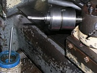 Lathe Tapping Tool