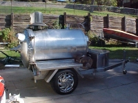 Trailered Smoker