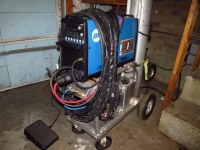 TIG Cart and Water Cooler