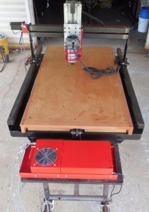 Homemade CNC Router Table