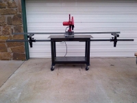 Abrasive Saw Table