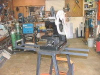 Chop Saw Workstation