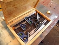 Combination Square Storage Box