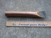 Copper Welding Backing Tool