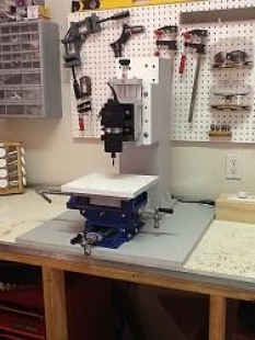Marvelous Homemade Tabletop Milling Machine Homemadetools Net Download Free Architecture Designs Scobabritishbridgeorg