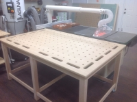 Outfeed and Clamping Table