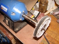 Buffing Wheel Modification