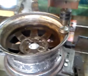 Wheel Polishing Jig