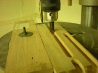 Truss Rod Slotting Setup