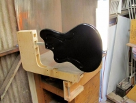 Guitar Body Painting Jig