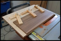 Guitar Top Jointing Jig