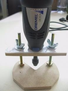 Homemade dremel router base for Diy dremel router table