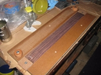 Fret Inlaying Jig