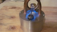 Alcohol Coil Stove