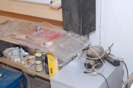 Homemade Vacuum Bagging Setup