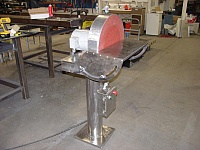 Pedestal-Mounted Disc Grinder