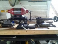 Tool Post Grinder Bench